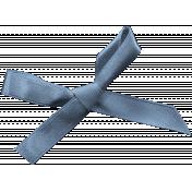 Pet Bow 40- Blue