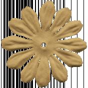Pet Silk Flower 009- Brown