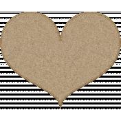 Pet Cork Heart
