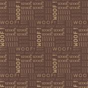 Puppy Dog Paper- Woof