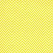 Chevron 17 Paper- Yellow & White