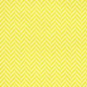 Chevron 17 Paper - Yellow & White