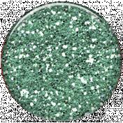 Cambodia Glitter Brad- aqua