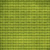 Argyle 9- Green Glitter