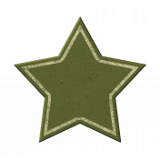 Green Chipboard Star 2