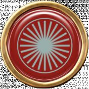 Argyle Buttons Brad 10- Gold