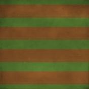 Stripes 62- Green & Brown