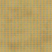Argyle Buttons Paper- Orange & Blue