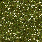 Thankful Green Glitter