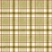 Plaid 27 Paper- Tan
