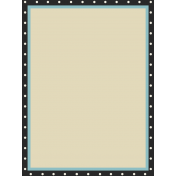 Move Journal Cards- Polka Dot Edge