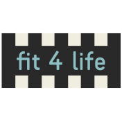 Move Label- Fit 4 Life