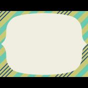 Thanksgiving Journal Card- Diagonal Stripes