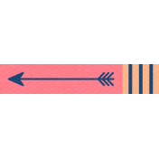 Thanksgiving Arrow- Pink