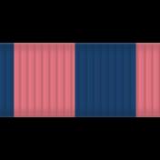 Thanksgiving Ribbon- Pink & Blue
