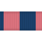 Thanksgiving Ribbon- Pink & Blue