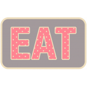 Thanksgiving Words- Eat