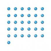 Brighten Up Dates- Blue