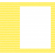 Brighten Up Photo Frame Yellow