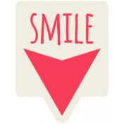 Brighten Up Label- Smile