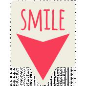 Brighten Up Label- Smile