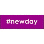 Brighten Up Label- #NewDay