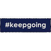 Brighten Up Label- #KeepGoing