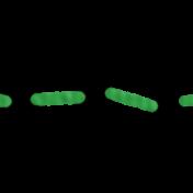 Brighten Up Stitching- Green