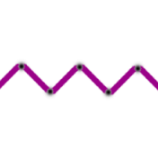 Brighten Up Stitching- Purple