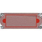 Smile Pretty Tag- Name Plate
