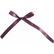Hanukkah Bow- Purple