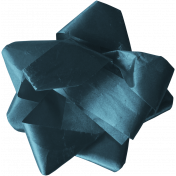 Hanukkah Bow- Blue