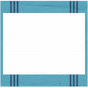 Hanukkah Frame- Blue