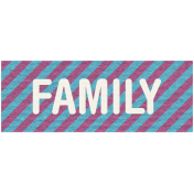 Hanukkah Label- Family