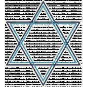 Hanukkah Star- Blues