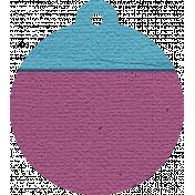 Hanukkah Tag- Purple & Blue