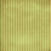 Stripes 54- Green & Tan