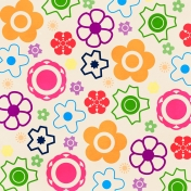 Brighten Up- Floral Paper