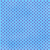 Brighten Up Paper- Polka Dot- Blue & Purple