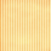Brighten Up Paper- Orange & Pale Yellow Stripes