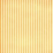 Brighten Up Paper- Orange & Pale Yellow Stripes