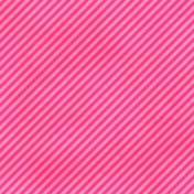 Brighten Up Paper- Diagonal Stripes- Pink