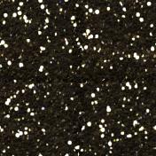 Vintage Blog Train- Brown Glitter