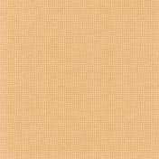 Vintage Blog Train- Polka Dot Paper- Orange