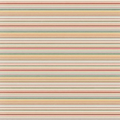 Vintage Blog Train- Stripes Paper