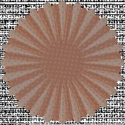 DST Nov 2013- Brown Paper Flower