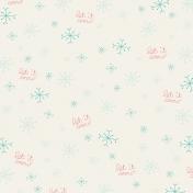 Deck The Halls- Let It Snow Paper