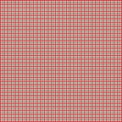 Deck The Halls- Plaid Paper