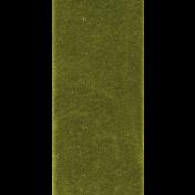 Deck The Halls- Green Flat Bow