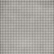 Houndstooth Gray & White Paper